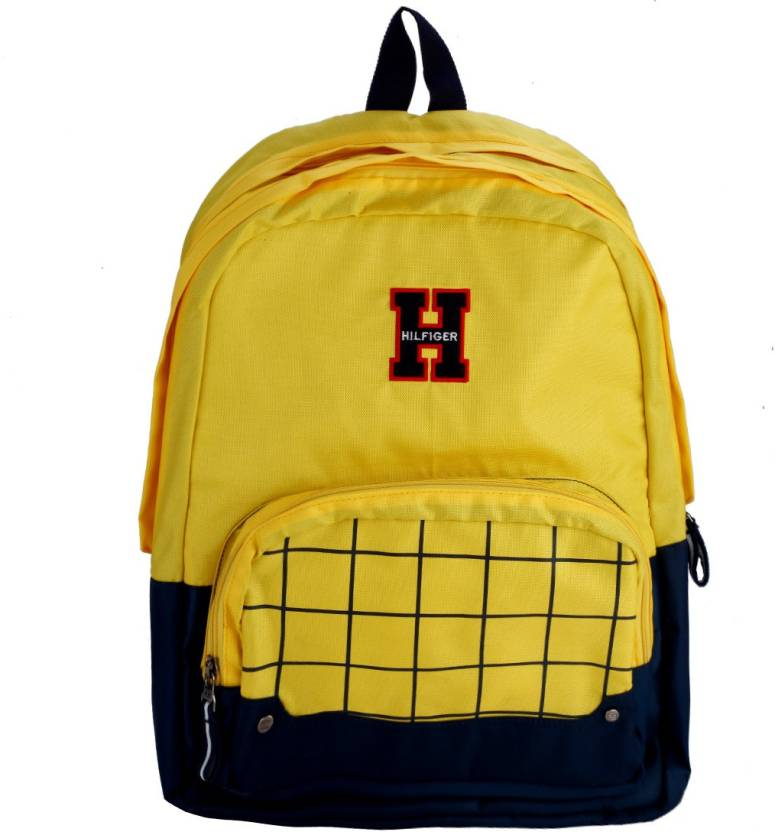 6205c15d Tommy Hilfiger Buddy Large 18.768 L Backpack Yellow - Price in India ...