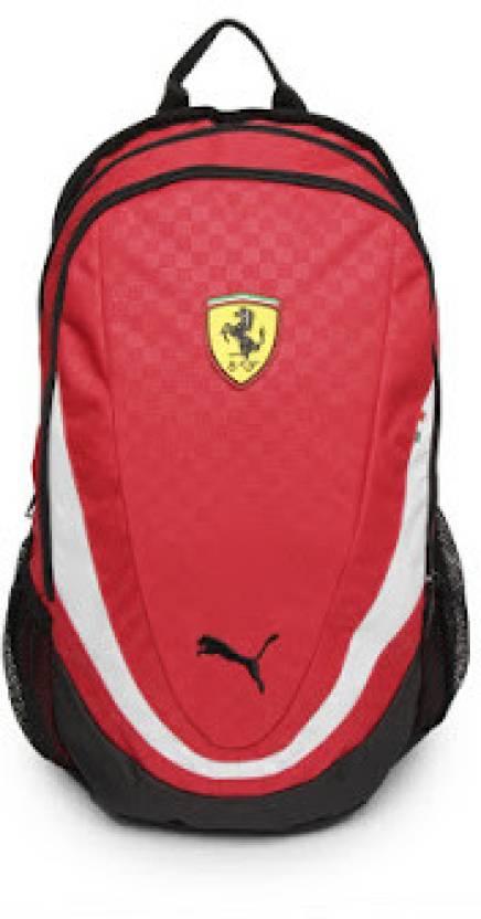 77e8e7e70c2f Puma Ferrari Replica 5 L Medium Backpack (Red