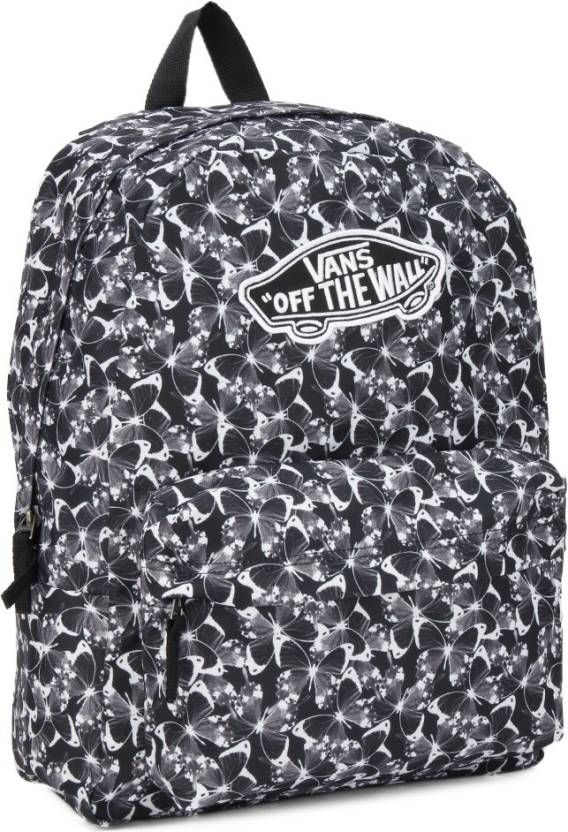 e21d28bcf03160 Vans 22 L Backpack Butterfly Black - Price in India