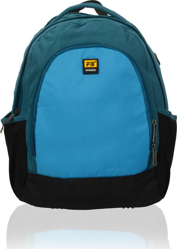 61158baed65c FB Fashion SB526FB 17 L Small Backpack Blue - Price in India ...