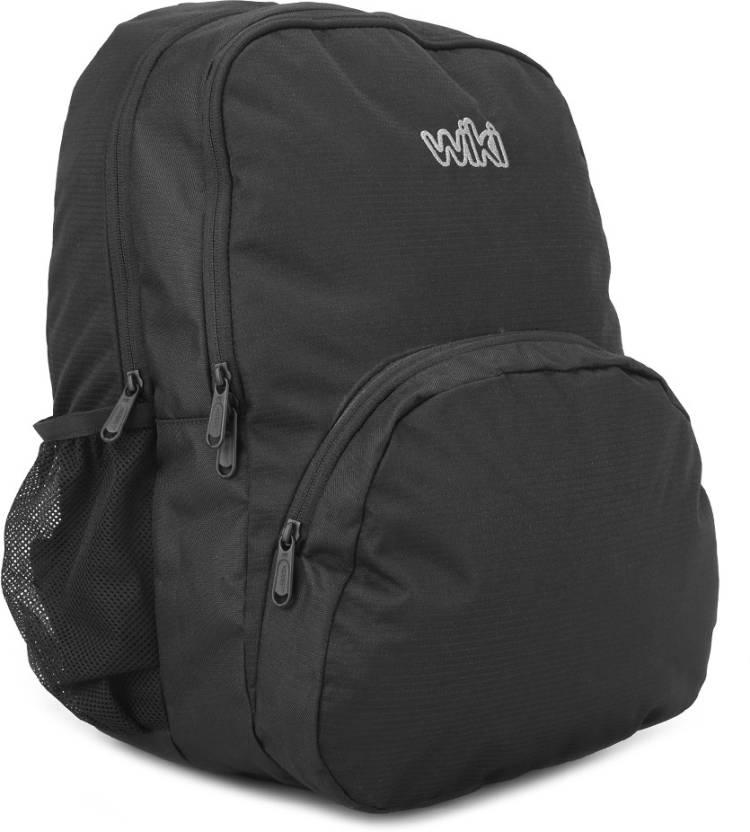 de023e178 Wildcraft Beam Backpack Black - Price in India | Flipkart.com