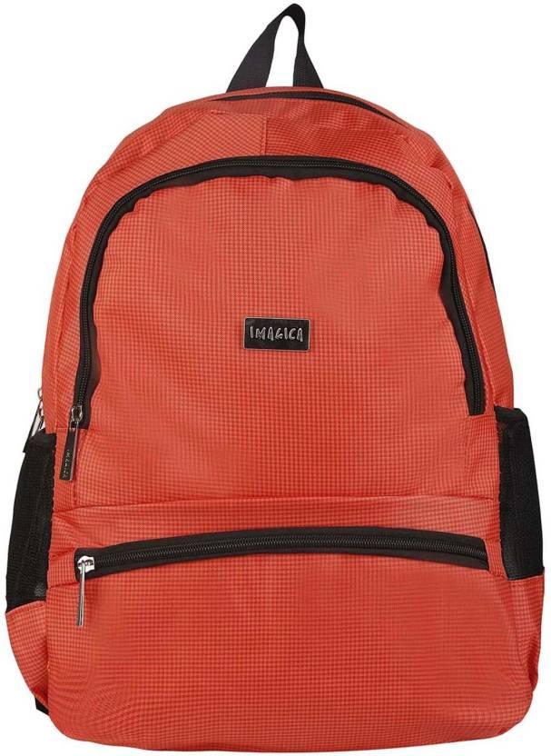 82aa250ffd69 Imagica Casual 10 L Backpack Orange - Price in India