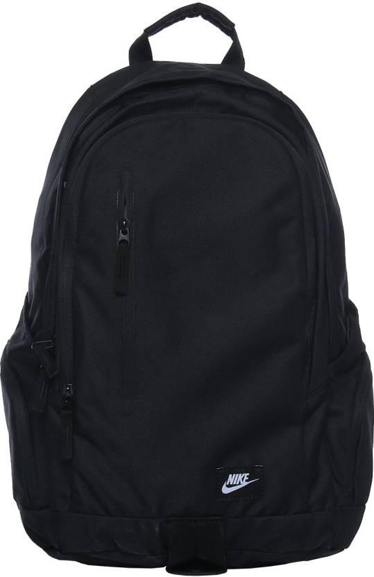762f3c2102 Nike All Access Fullfare 25 L Backpack Black - Price in India ...