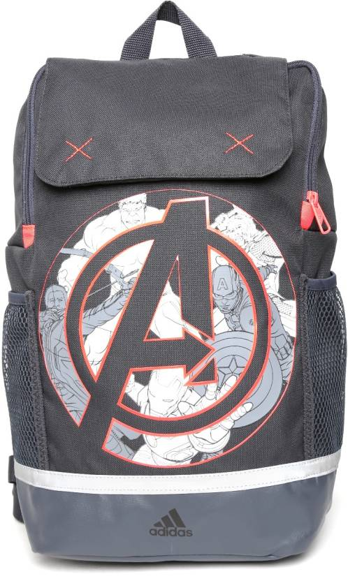 08a86f15f0a1 ADIDAS MARVEL LK BP 2 L Backpack Grey - Price in India