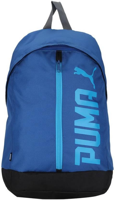 4f18800068dc Puma Pioneer Backpack II 17.5 L Laptop Backpack TRUE BLUE - Price in ...