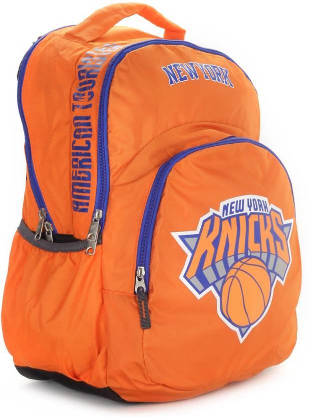 57f189661fd1 American Tourister Hooper Nba Ny Knicks Backpack Orange - Price in ...