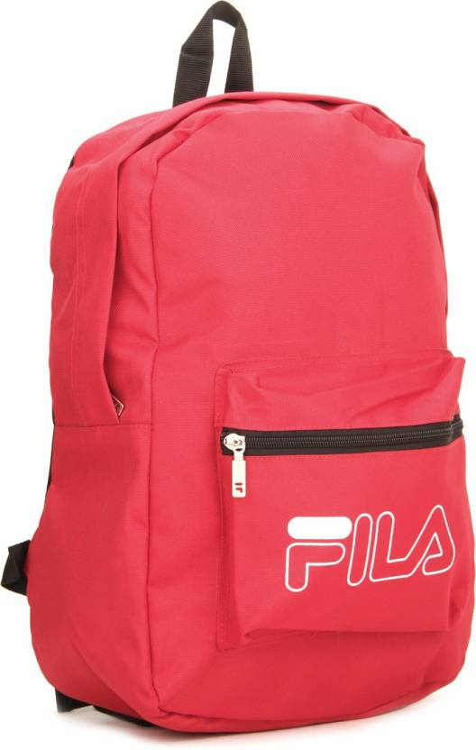 Fila Backpack Red - Price in India