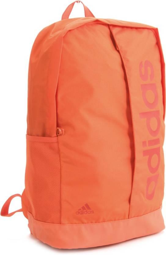 ADIDAS Lin Per Bp Backpack Bold Orange - Price in India