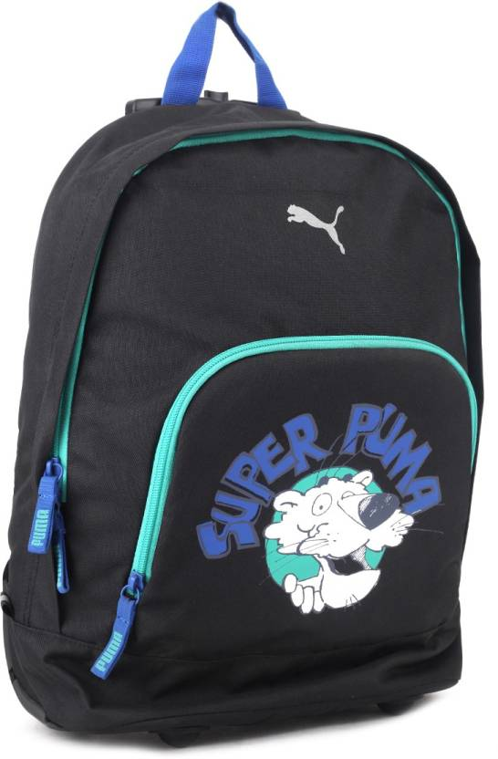 6b2735de1c4a Puma Primary Wheel Bag 15 L Trolley Backpack black - Price in India ...