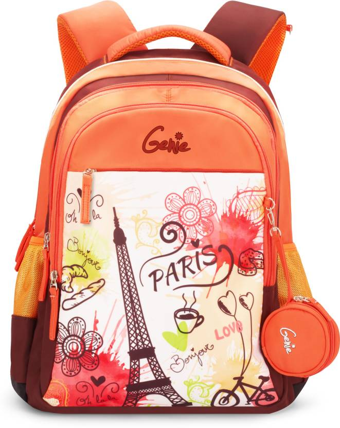 2a509ffe800 Genie Paris 32 L Backpack Blue - Price in India   Flipkart.com