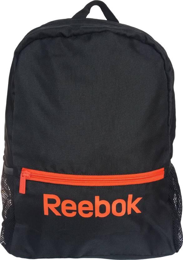 REEBOK Ess School 16 L Backpack Black - Price in India