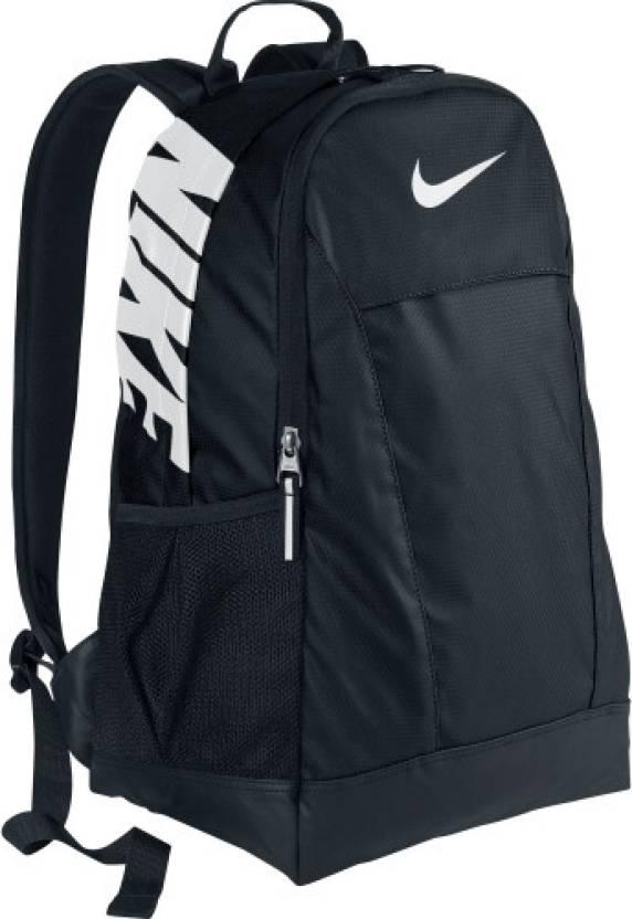 Nike Team Training Medium Medium Backpack Black - Price in India ... f06a80b5831a2
