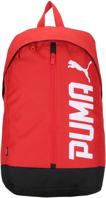 Puma Pioneer Backpack II 17.5 L Laptop Backpack High Risk Red ... dfbf93dc23b36