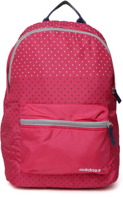 9de86ee5606 ADIDAS Neo Base Grl 2.5 L Backpack Pink - Price in India   Flipkart.com
