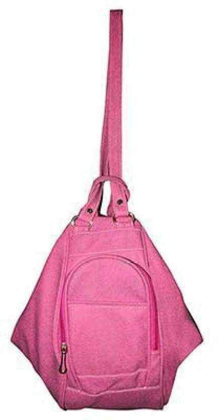 Bagathon India Women S Shoulder Cum Hand Purse 2 5 L Backpack Pink