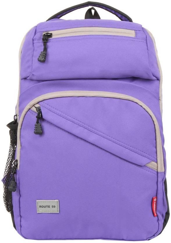 707013c7bd Harissons Jordan 19 L Backpack Purple - Price in India