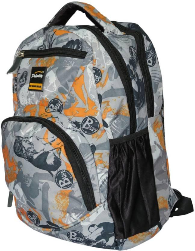 92c12dc50070 Priority HIM13 Backpack (Grey