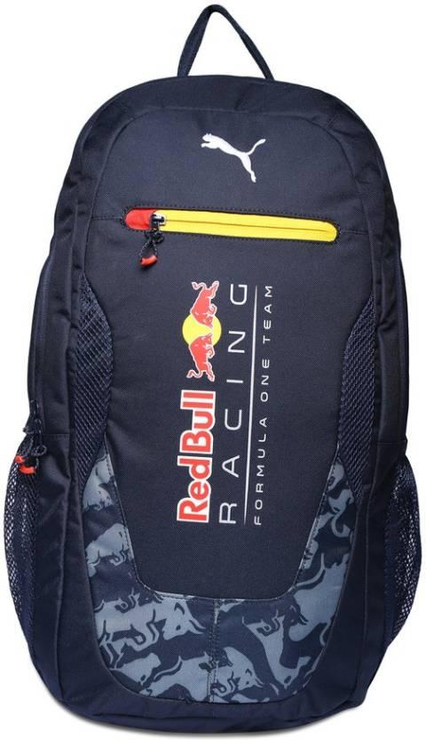 ba8a36ada5 Puma Puma Red Bull RBR Replica 27 L Laptop Backpack (total eclipse-smoked  pearl-stampede) 27 L Laptop Backpack (Blue)