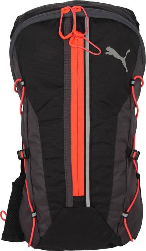 8384be56ef Puma PR Lightweight 2.5 L Backpack Black-Asphalt-Red Blast - Price ...