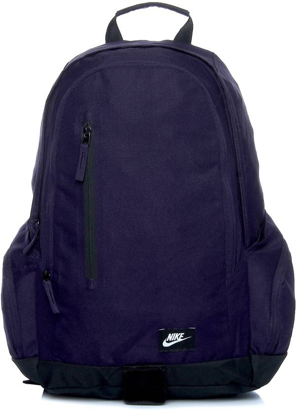 Nike All Access Fullfare 25 L Backpack Purple - Price in India ...