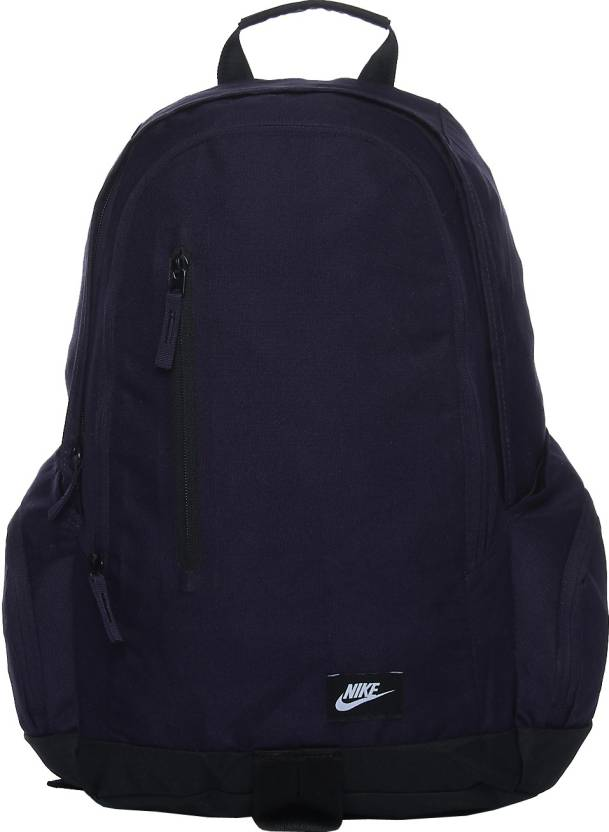 Nike All Access Fullfare 25 L Backpack Navy Blue - Price in India ... 7035ac41ce34