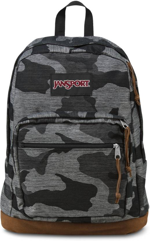36f792ee1 JanSport Right Pack Expressions 31 L Laptop Backpack Grey Denim Camo ...