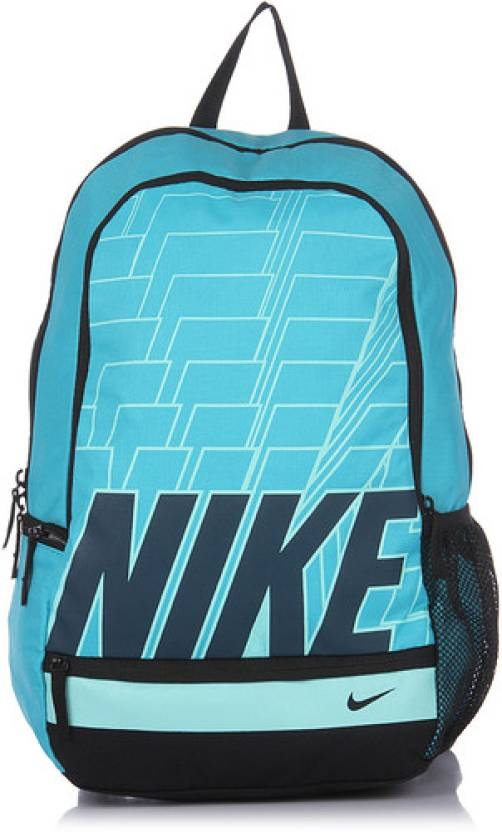 Nike BA4863-300 Medium Backpack Aqua Blue - Price in India ... b36658c226