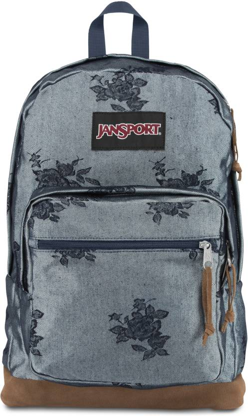10c456785 JanSport Right Pack Expressions 31 L Laptop Backpack Silver Rose ...