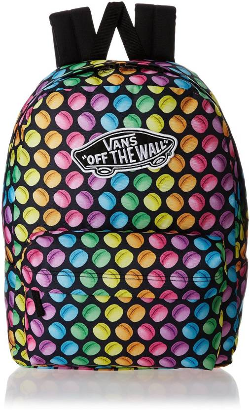 aa1b199d14 Vans Realm 15 L Backpack (Multicolor). Price: Not Available. Currently  Unavailable. Color. (Late Night) Black/Macaroons