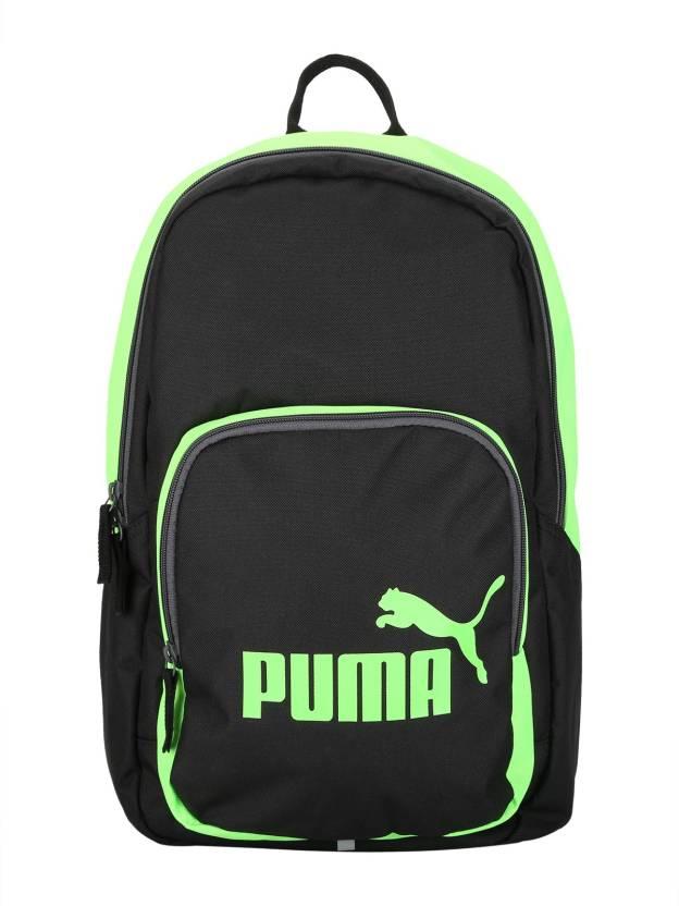 0cfec6896 Puma Phase 21 L Laptop Backpack Green Gecko-Puma Black - Price in ...