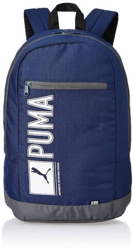 Puma Pioneer 10 L Medium Backpack Blue - Price in India  5f4613a2fa7e5