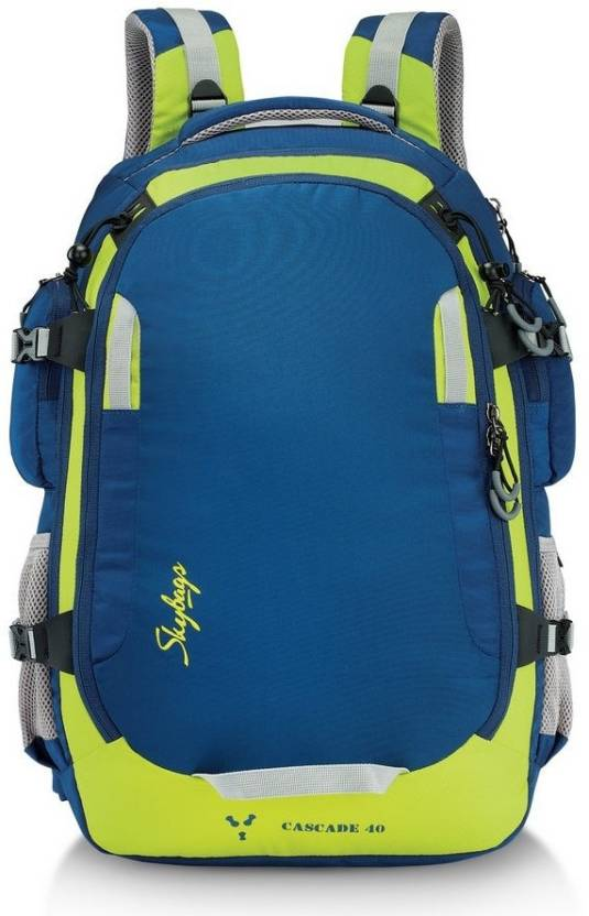 a5110aa11 Skybags Cascade 40 Blue 40 L Laptop Backpack Blue - Price in India ...