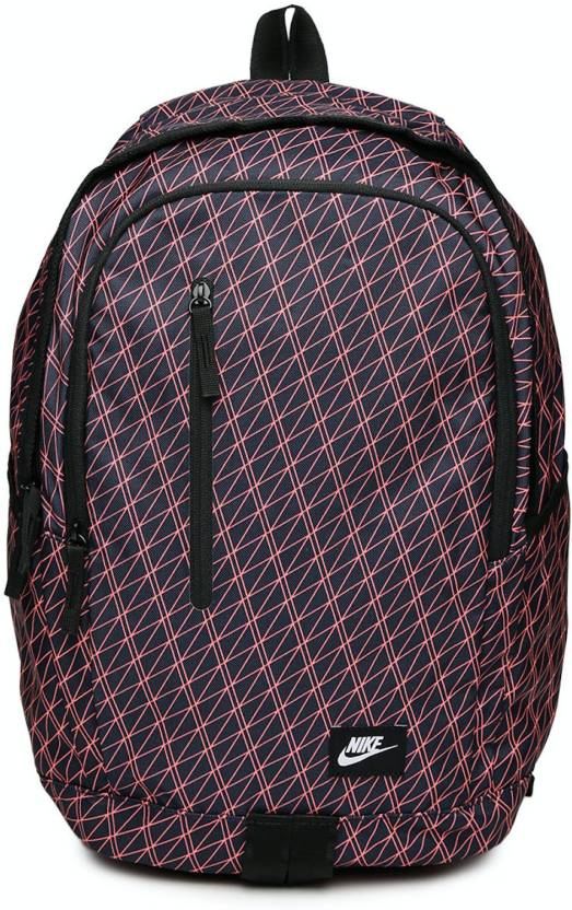 453757c3c78e2 Nike All Access Soleday Printed 25 L Laptop Backpack (Blue