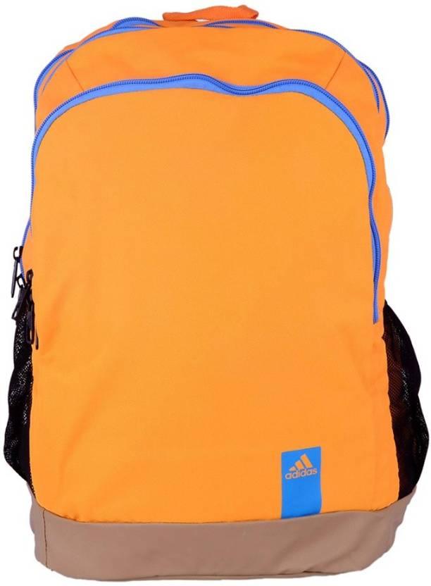 ADIDAS AY8487 15 L Medium Backpack Orange - Price in India ...