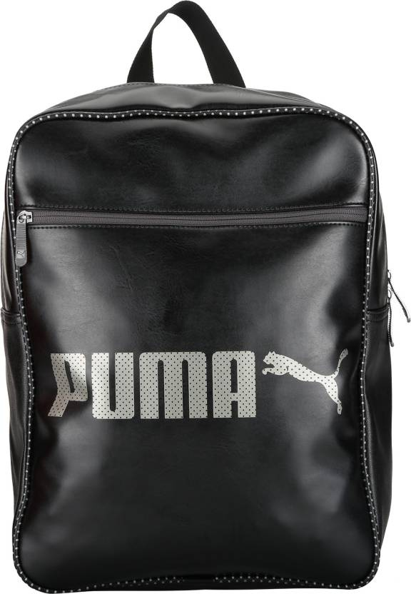 Puma Campus Backpack 12 L Backpack Puma Black - Price in India ... b9bb53fd4d
