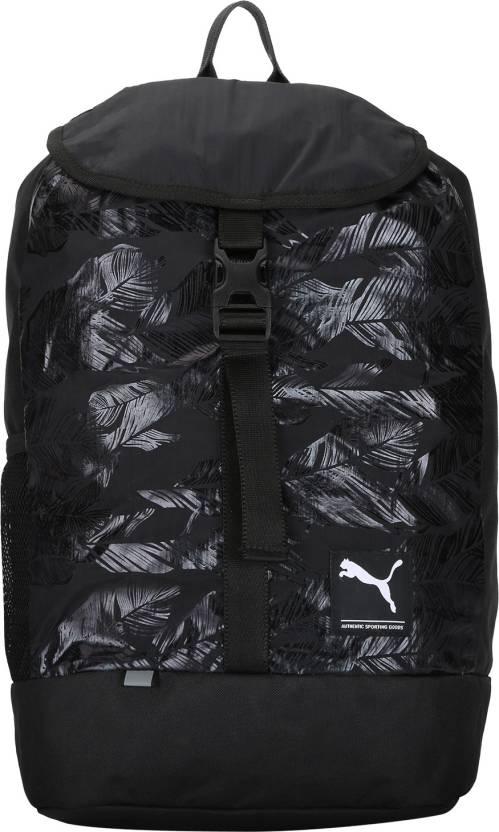 7c26bda943 Puma Academy Female 20 L Laptop Backpack Puma Black-Swan - Price in ...