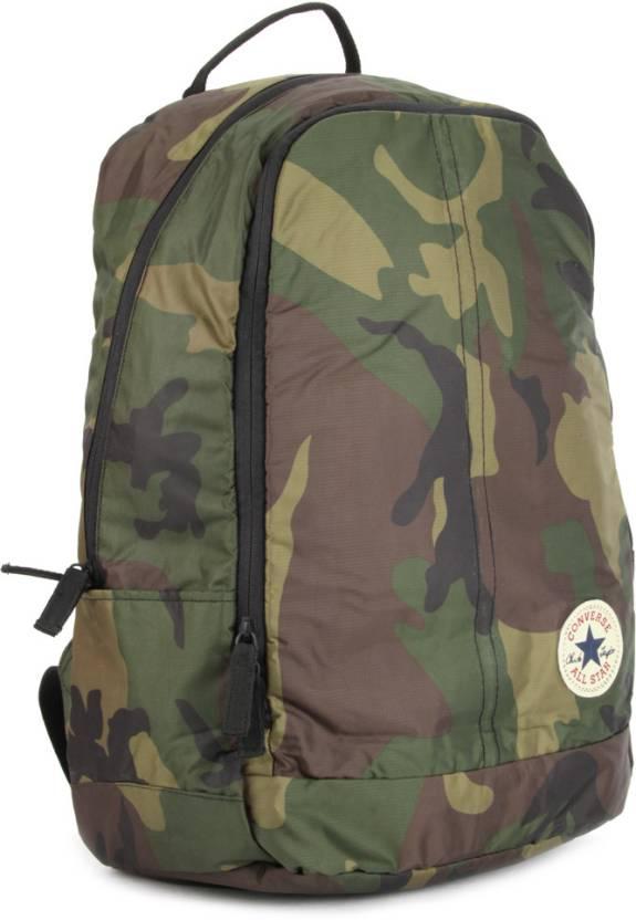 Converse Laptop Backpack Military Green - Price in India   Flipkart.com f9571bdf24