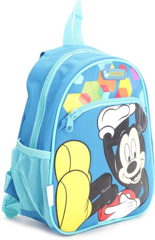 a1cce96364c American Tourister Disney Wonder Spectm Backpack Blue - Price in ...