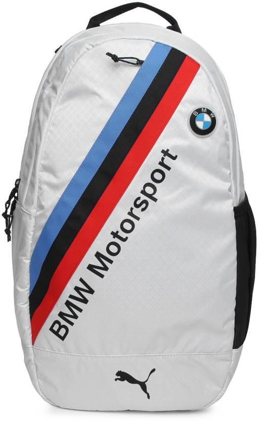 Puma BMW Motorsport 2.5 L Backpack White - Price in India   Flipkart.com 51a1daf0f4
