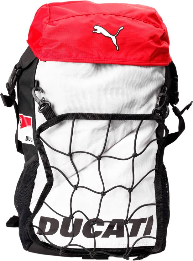 02e531b1e2db Puma Ducati 24.5 L Free Size Backpack Rosso Corsa