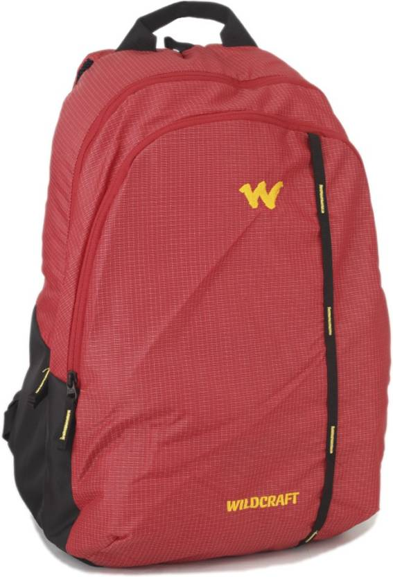 Wildcraft Wc 1 Latlong 1 35 L Backpack Red Price In India