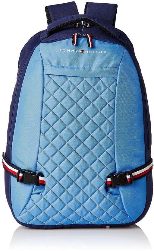 6e059e33 Tommy Hilfiger Fashionare 29 L Backpack LIGHT BLUE - Price in India ...