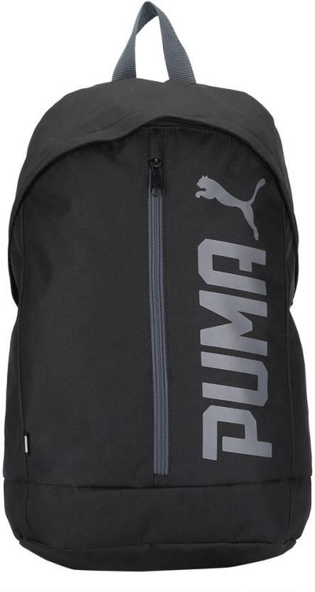 Puma Pioneer Backpack II 17.5 L Laptop Backpack Puma Black - Price ... 14538ee4f13de