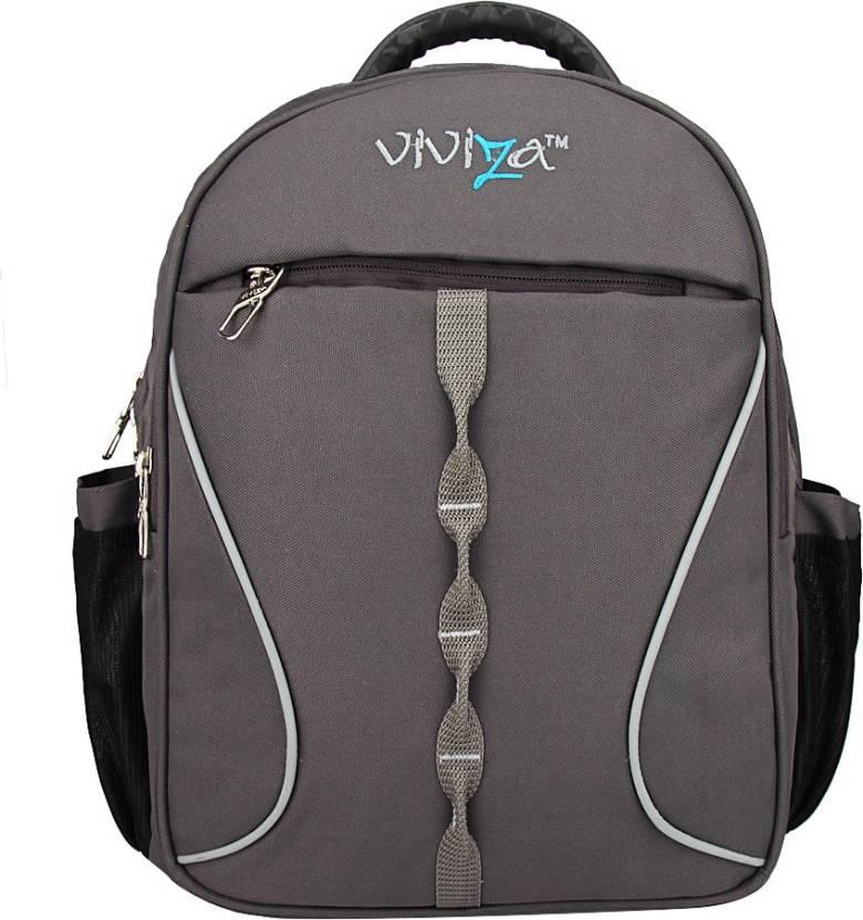 b9928444289 Viviza V-01 20 L Backpack Grey - Price in India   Flipkart.com