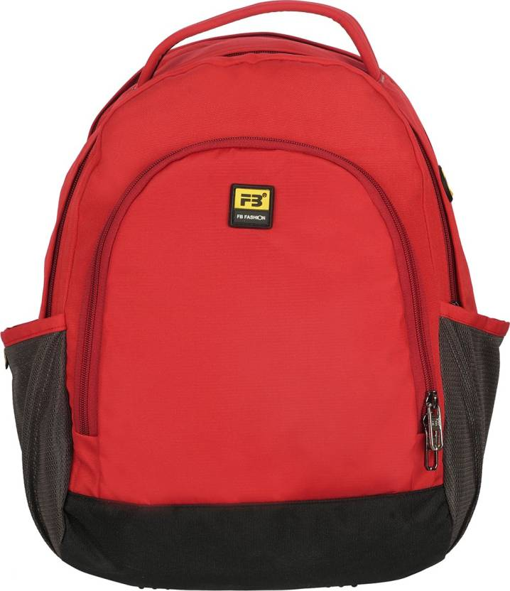 7b8343e5914b FB Fashion SB-526 17 L Small Backpack Red - Price in India ...