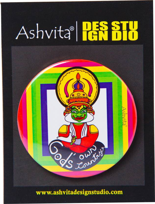 Ashvita Design Studio Shapes Badge Price in India - Buy Ashvita
