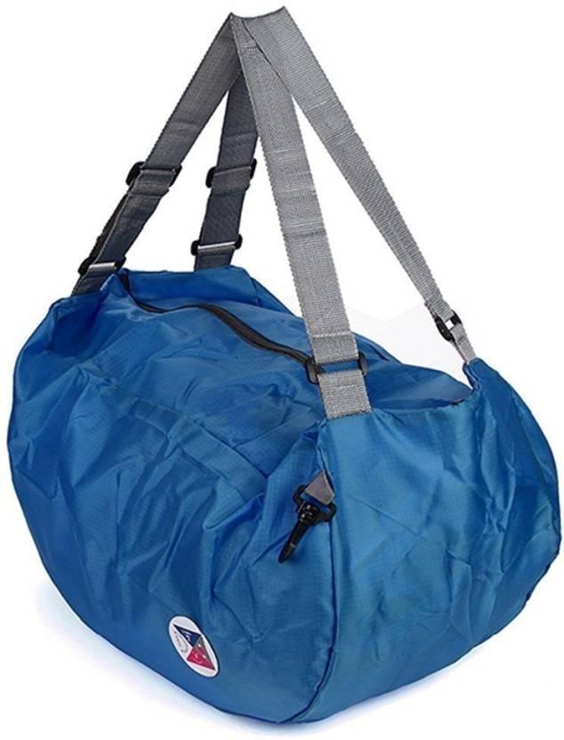 b9f9472a126a Favria 3 Way Easy Multipurpose Foldable Waterproof Multipurpose Bag (Blue