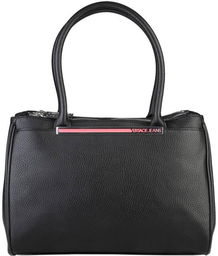 Versace Jeans Versace Jeans Black Hand Bag Shoulder Bag (Black 386ced8aa9493