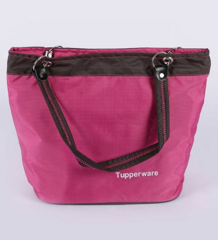 Tupperware recruiting bag Waterproof School Bag Pink, 10 L
