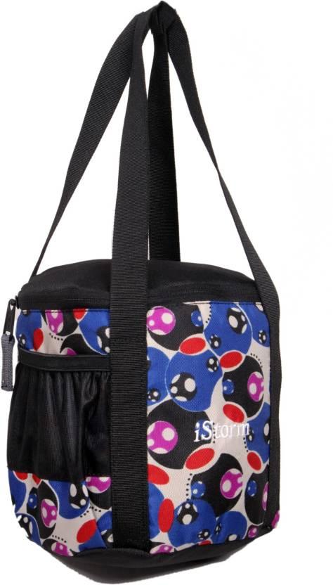 Istorm Peeps medium Waterproof Lunch Bag Multicolor, 7 inch